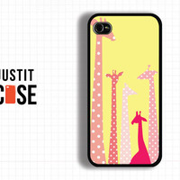 Case iPhone 4 Case iPhone 4s Case iPhone 5 Case idea Case Giraffe Case