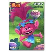 Party Favors Dreamworks Trolls 96 pg Coloring Book For Kids