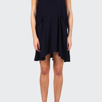 Broken Strings Dress - navy