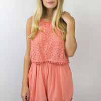 Aster Lace Romper