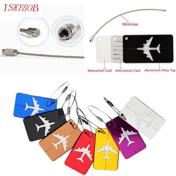 Metal Suitcase Address Tag