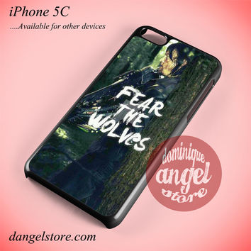 Daryl Divon Fear The Wolf Phone case for iPhone 5C and another iPhone devices