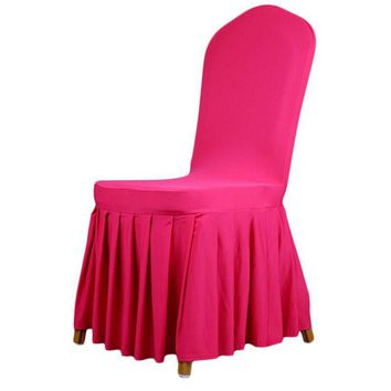 7 Colors Weddings Banquet Hotel Chair cover