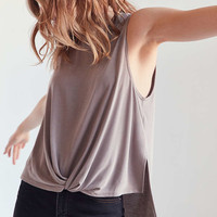 Silence + Noise Virgo Twisted Muscle Tank Top - Urban Outfitters