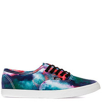 The Authentic Lo Pro Sneaker in Galaxy Nebula and White