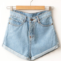 Skye High Waisted Shorts