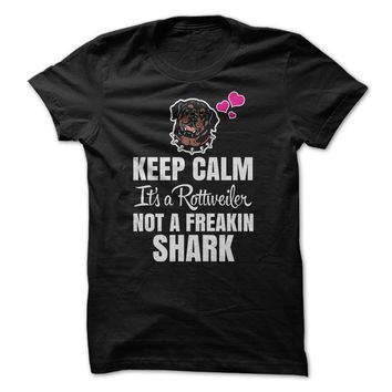 Rottweiler Not a Shark