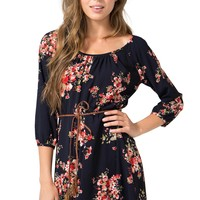 Floral Fancy Aline Dress