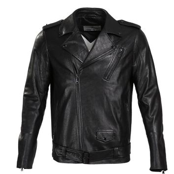 Fashion leather jacket Short Sheepskin Men leather jacket Classic genuine leather jacket men leather jacket