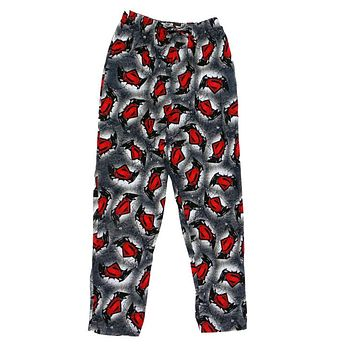DC Comics Batman Vs Superman Knit Graphic Sleep Lounge Pants - Small