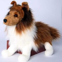 Plush Stuffed Animal: Shetland Sheepdog