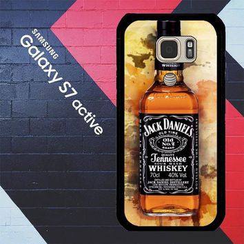 Jack Daniels Drinks W4917 Samsung Galaxy S7 Active Case