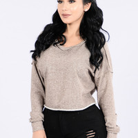 Tranquility Sweater - Mocha