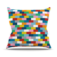 "Project M ""Bricks"" Throw Pillow"
