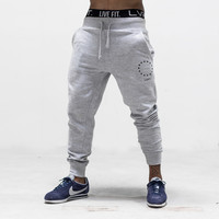 Live Fit. Apparel — Jogger Sweat Pants - Grey