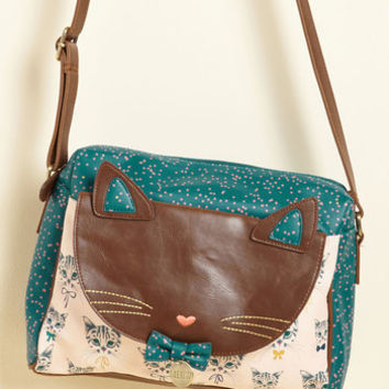 Where There Are Whiskers Bag | Mod Retro Vintage Bags | ModCloth.com
