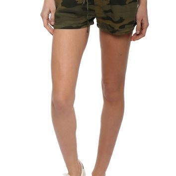 Fox + Hawk Camo Shorts