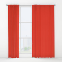 Google Red Window Curtains by spaceandlines