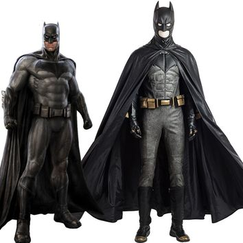 Justice League Batman Cosplay Costume Superhero Halloween Custom Made