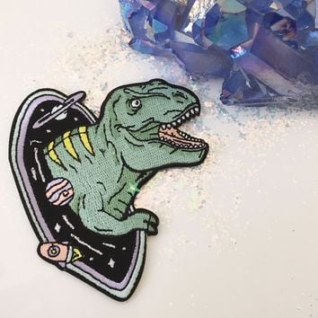 Space Dinosaur Patch
