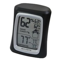 Acu-Rite 00325 Home Comfort Monitor, Black $10.75