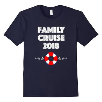 Family Cruise 2018 Family Vacation Group Fun Star T-Shirt