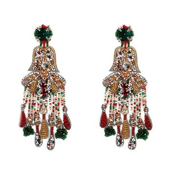 Vintage Chandelier Earrings.