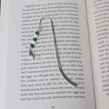 Customized Bookmarks - Sports Team Colors and Charms - Gift for Bookworm - Cute Book Marks - Bookish Gift Ideas - Sports Gift for Book Nerd