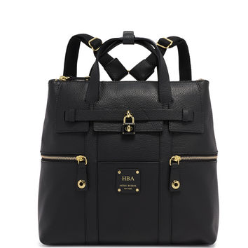 Jetsetter Convertible Leather Backpack | Henri Bendel