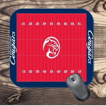 University of Houston Cougars Football field Mouse Pad