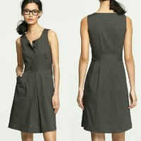 J. Crew Caroline Day Dress Small sleeveless Dress