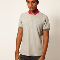 Boxfresh Polo Contrast Collar Kailey at asos.com
