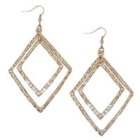 Women's Textured Diamond Earring in Gold by Daytrip.