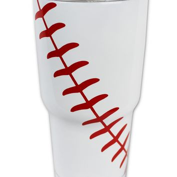 Baseball Tumbler 30 OZ or 20 OZ Stainless Steel Hot Cold Tumblers Gifts