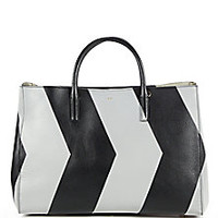 Anya Hindmarch - Ebury Colorblock Large Leather Tote - Saks Fifth Avenue Mobile