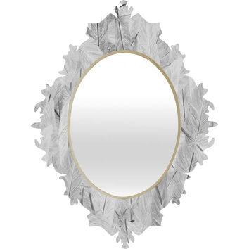 Matt Leyen Feathered Light Baroque Mirror