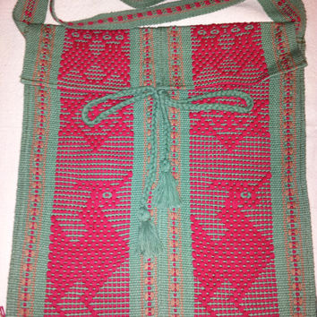 Cross Body Bag Mexican Weaving