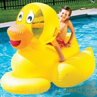 GIANT DUCKY POOL FLOAT