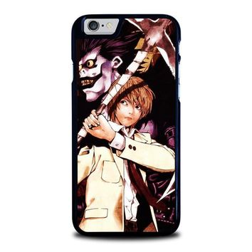 death note ryuk and light iphone 6 6s case cover  number 1