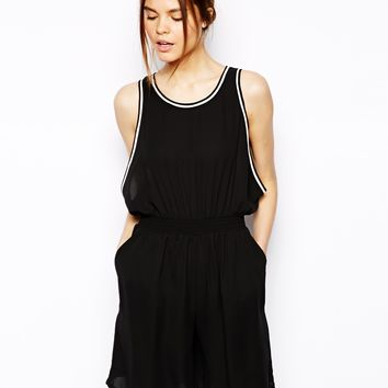 ASOS Playsuit With Dropped Armhole