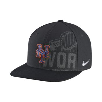 Nike Playoff Bound (MLB Mets) Adjustable Hat Size ADJ (Black)