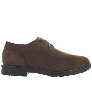 Timberland Earthkeepers Carter Oxford Notch   Waterproof Brown Leather Oxford