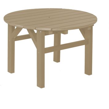 "Wildridge Heritage Outdoor Occasional Table 33""  - Ships in 10-14 Business Days"