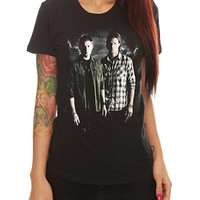 Supernatural Winchester Brothers Girls T-Shirt