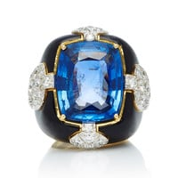 One-Of-A-Kind Quatrefoil Ring | Moda Operandi