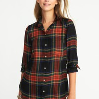 Relaxed Soft-Washed Classic Shirt for Women | Old Navy