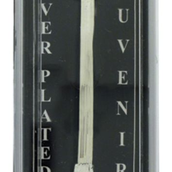 Souvenir Spoon European Village Silver Plated