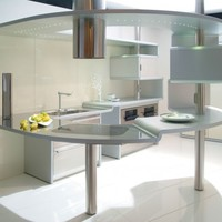 Kitchen with island ACROPOLIS by Snaidero | design Pininfarina