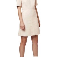 Topshop Short Sleeve A-Line Dress | Nordstrom