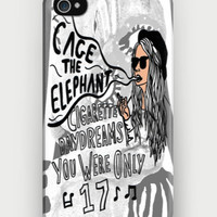 Cage The Elephant Lyrics iPhone Case | CrewWear